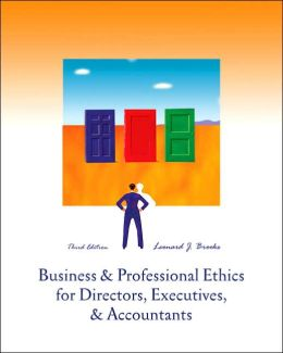 Business and Professional Ethics: For Directors, Executives and Accountants