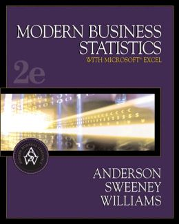 Modern Business Statistics (with CD-ROM and InfoTrac )