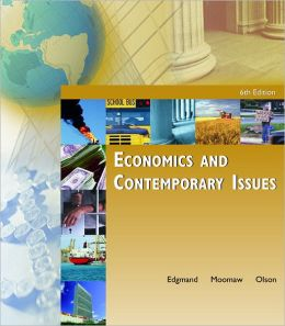 Economics and Contemporary Issues with Economic Applications Card