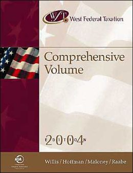 West Federal Taxation: Comprehensive 2004