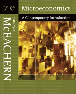 Microeconomics: A Contemporary Introduction (with Infotrac(r))
