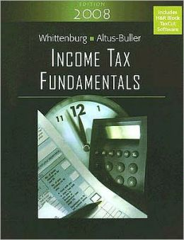Income Tax Fundamentals (with TaxCut Tax Prep Software)