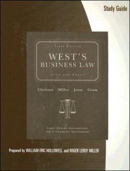 Study Guide for West's Business Law, 10th