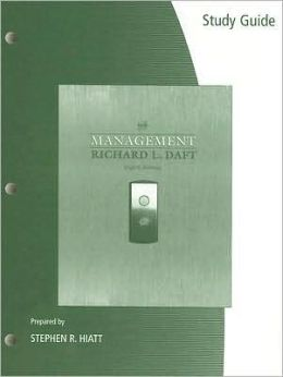 Study Guide for Daft's Management, 8th