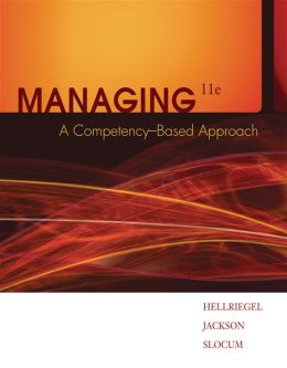 Managing: A Competency-Based Approach (Book Only)