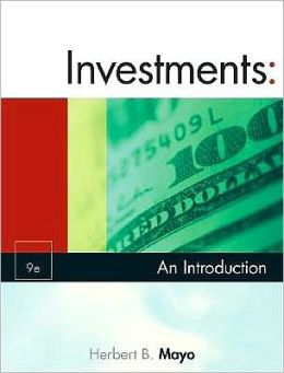 Investments: An Introduction (with Thomson ONE - Business School Edition and Stock-Trak Coupon)