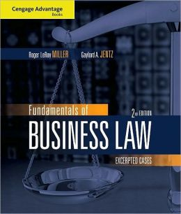 Fundamentals of Business Law: Excerpted Cases