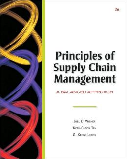 Principles of Supply Chain Management (with InfoTrac and CD-ROM)