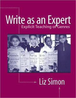 Write as an Expert: Explicit Teaching of Genres