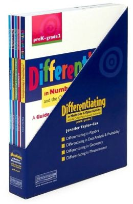 Differentiating in Numbers and Operations and Other Math Content Standards: preK-grade 2