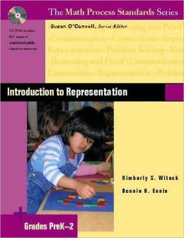 Introduction to Representation, Grades Prek-2