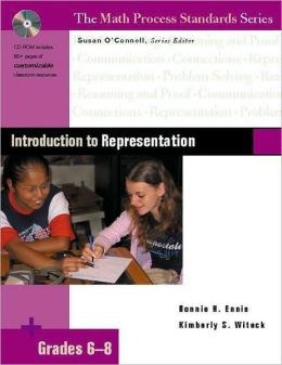 Introduction to Representation, Grades 6-8 (The Math Process Standards Series)