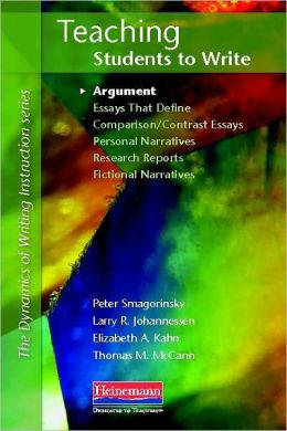 Teaching Students to Write: Argument