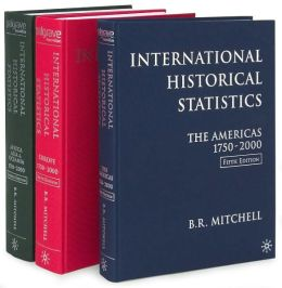 International Historical Statistics 1750-2000 (3 Volume Set)