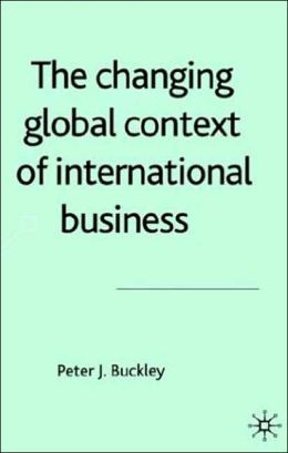 Changing Global Context Of International Business