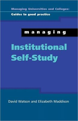 Managing Institutional Self Study