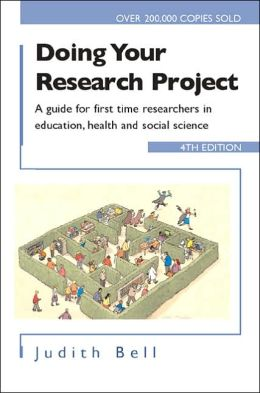 Doing Your Research Project 4/e: A guide for first-time researchers in social science, education and health