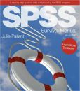 Book Cover Image. Title: SPSS Survival Manual:  A step by step guide to data analysis using SPSS, Author: Julie Pallant