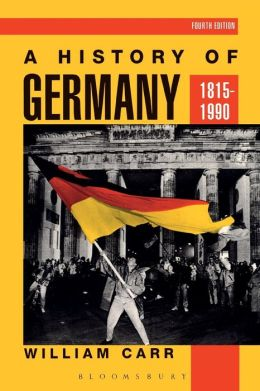 A History of Germany, 1815-1990