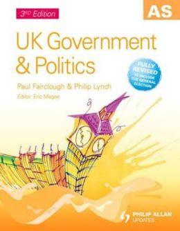 UK Government & Politics, 3rd edition