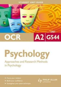 Approaches & Research Methods in Psychology
