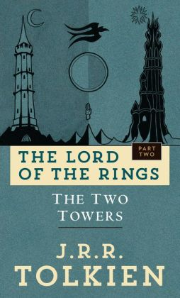 The Two Towers (Lord of the Rings Trilogy #2 - Movie Art Cover)