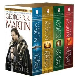 A Game of Thrones 4-Book Boxed Set (A Song of Ice and Fire Series)