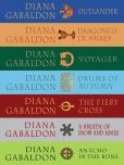 Book Cover Image. Title: The Outlander Series 7-Book Bundle:  Outlander, Dragonfly in Amber, Voyager, Drums of Autumn, The Fiery Cross, A Breath of Snow and Ashes, An Echo in the Bone, Author: Diana Gabaldon