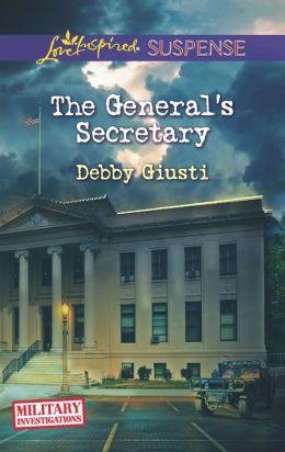 The General's Secretary (Love Inspired Suspense Series)
