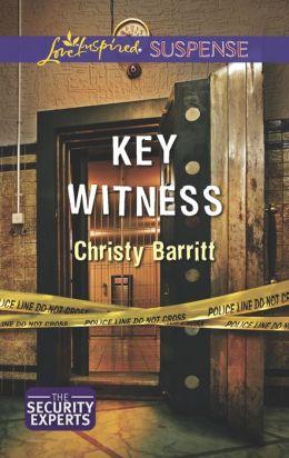 Key Witness (Love Inspired Suspense Series)