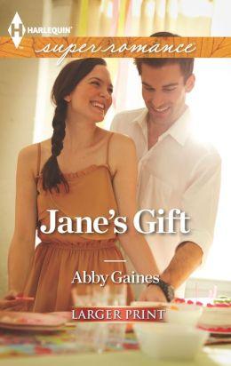 Jane's Gift (Harlequin LP Superromance Series #1850)