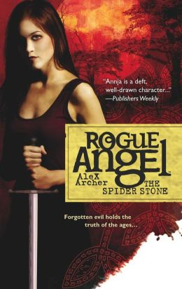 The Spider Stone (Rogue Angel Series #3)