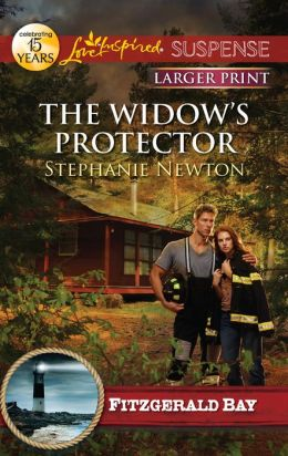 The Widow's Protector (Love Inspired LP Suspense Series)