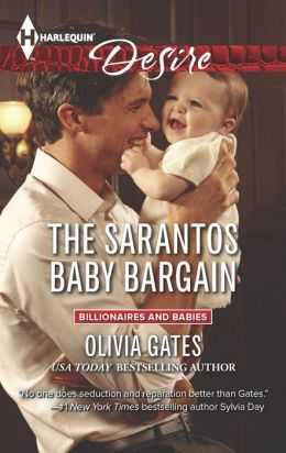 The Sarantos Baby Bargain (Harlequin Desire Series #2301)