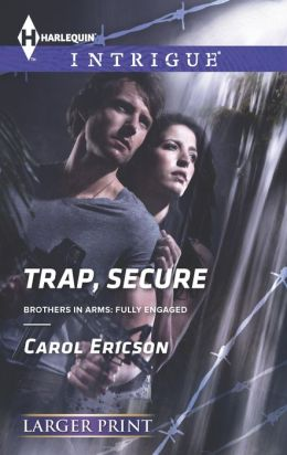 Trap, Secure / Navy SEAL Security (Harlequin LP Intrigue Series #1450)