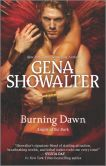 Book Cover Image. Title: Burning Dawn (Angels of the Dark Series #3), Author: Gena Showalter