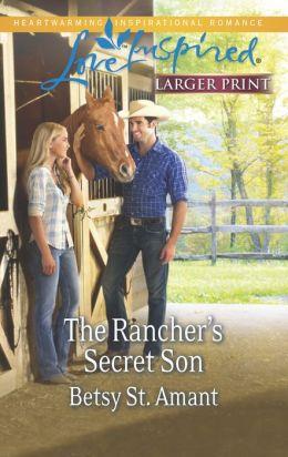 The Rancher's Secret Son (Love Inspired LP Series)