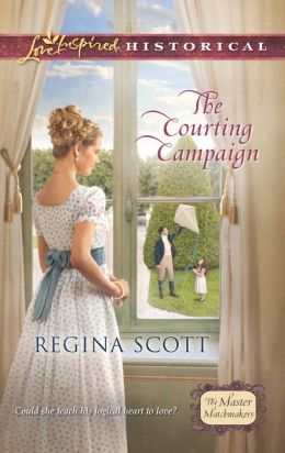 The Courting Campaign (Love Inspired Historical Series)