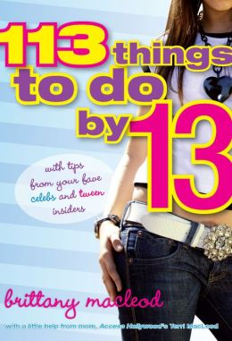 113 Things To Do By 13