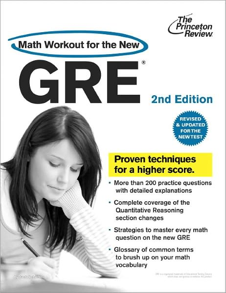 Free ebook and pdf downloads Math Workout for the New GRE, 2nd Edition 9780375428203 by Princeton Review Staff
