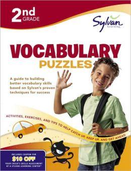 Second Grade Vocabulary Puzzles (Sylvan Workbooks)