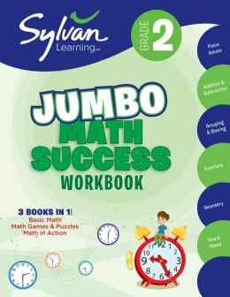 Second Grade Super Math Success (Sylvan Super Workbooks)