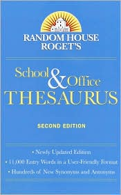 Random House Roget's School and Office Thesaurus