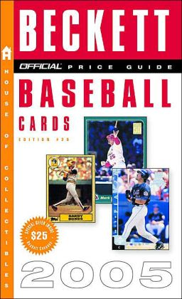 Official Price Guide to Baseball Cards 2005