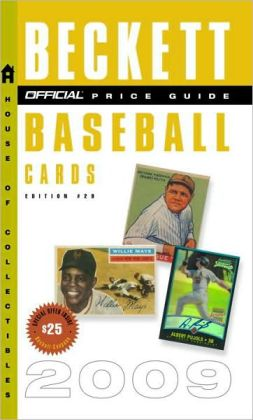 The Official Beckett Price Guide to Baseball Cards 2009, Edition #29