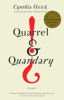 Quarrel and Quandary: Essays