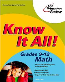 Know It All! Grades 9-12 Math