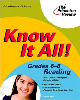 Know It All! Grades 6-8 Reading