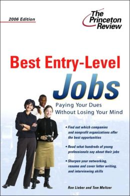 Best Entry-Level Jobs 2006