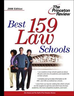 Best 159 Law Schools 2006